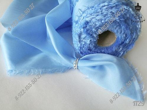 Подклад, ярко-голубой