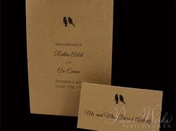 Dual Language Wedding Invitation (2)