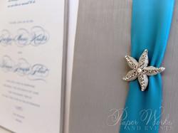 Destination Wedding Box Invitation with