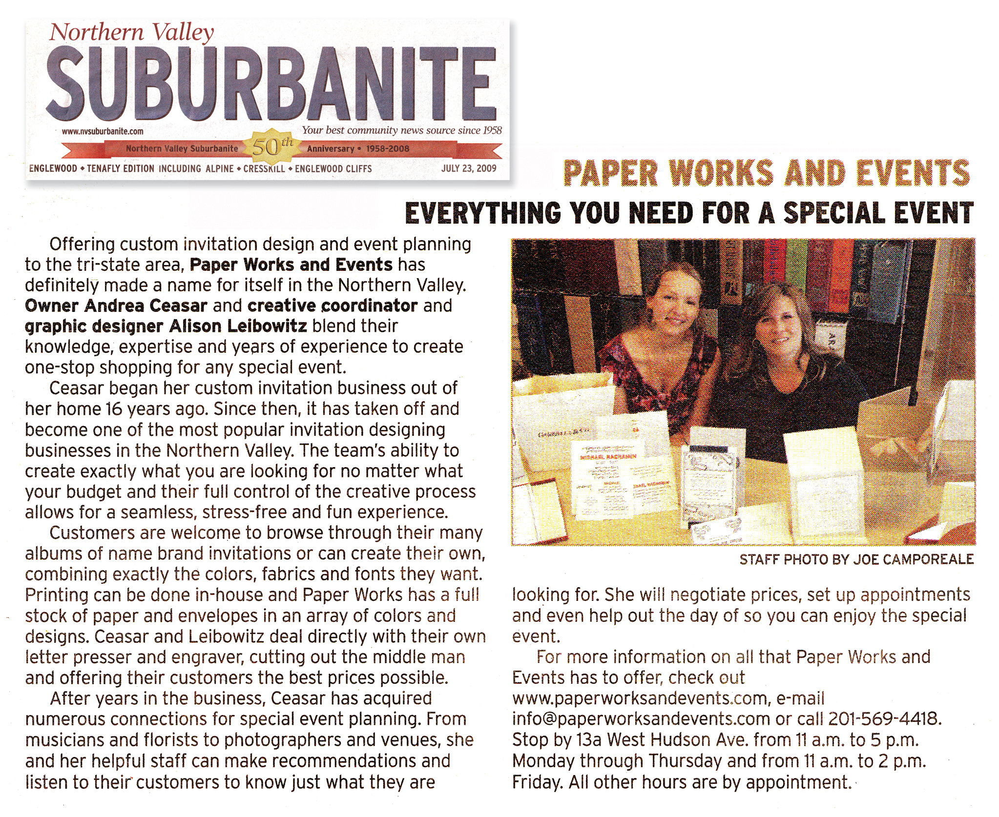 Suburbanite article