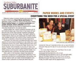 Suburbanite article