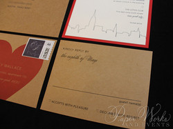 Kraft Paper New York City Wedding Invitation (3)