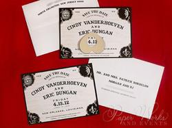 Fun Ouija Board Save the Date 1 paperworksandevents.com