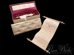 Scroll Wedding Invitation (6)