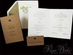 Dual Language Wedding Invitation (4)