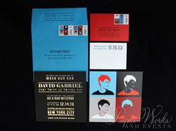 Pop Art Bar Mitzvah Invitation Suite Custom Stamps 1 paperworksandevents.com