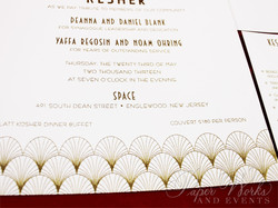 The Great Gatsby inspired Art Deco Invitation (3)