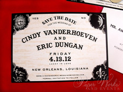 Fun Ouija Board Save the Date 3 paperworksandevents.com