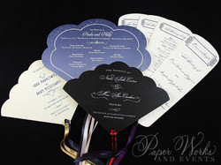 Fan Wedding Programs paperworksandevents