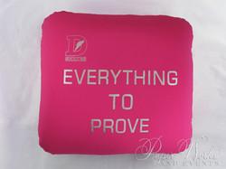 Sports Drink Bottle Label Invitation Microbead Pillow Giveaways 9 paperworksandevents.com