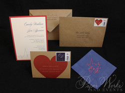 Kraft Paper New York City Wedding Invitation (5)
