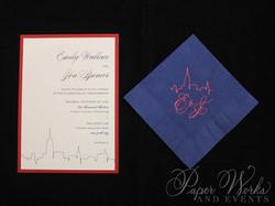 Kraft Paper New York City Wedding Invitation (7)