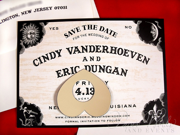 Fun Ouija Board Save the Date 2 paperworksandevents.com