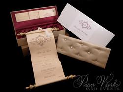 Scroll Wedding Invitation (7)