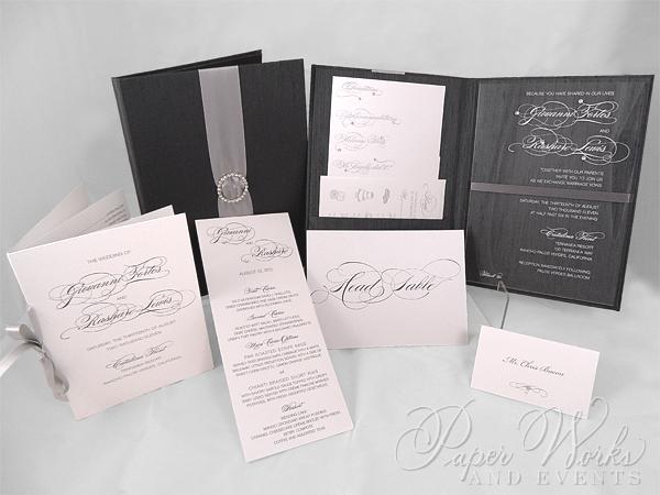 Wedding Box Invitation