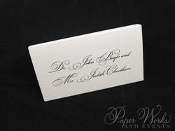 Penguin Pocket Folder Wedding Invitation (8)