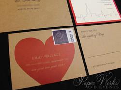 Kraft Paper New York City Wedding Invitation (2)