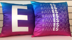 hashtag awesome pillow
