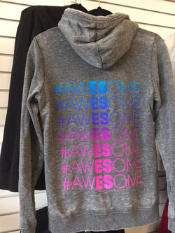 hashtag awesome sweatshirt