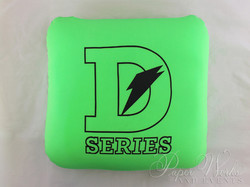 Sports Drink Bottle Label Invitation Microbead Pillow Giveaways 3 paperworksandevents.com