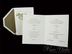 Dual Language Wedding Invitation (3)