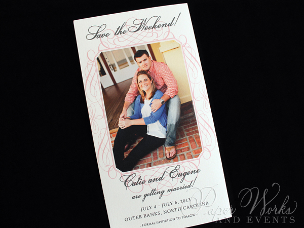 Tri Fold Photo Save the Date