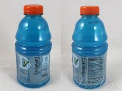 Sports Drink Bottle Label Invitation Microbead Pillow Giveaways 8 paperworksandevents.com