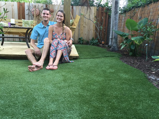 Synthetic Turf, a perfect solution.