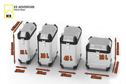 K2 Quro Side Case 31L/38L/45L