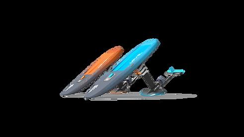 Level Hydrofoils Alpha Layer Isometric