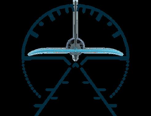 Level Hydrofoils Gyro Self Balancing