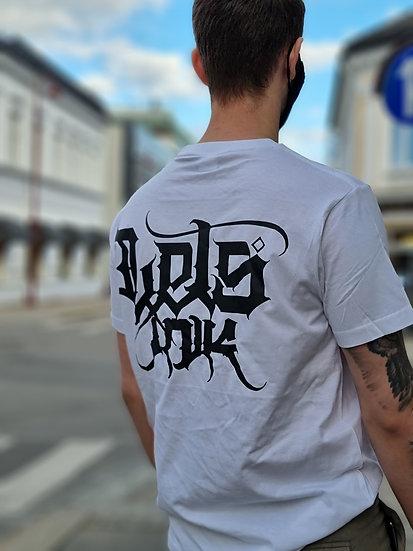 Lets Ink T-shirt hvit