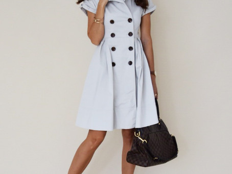 Old trench-dress from Zara