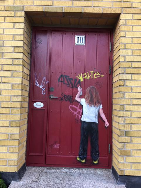 Door in Limhamn