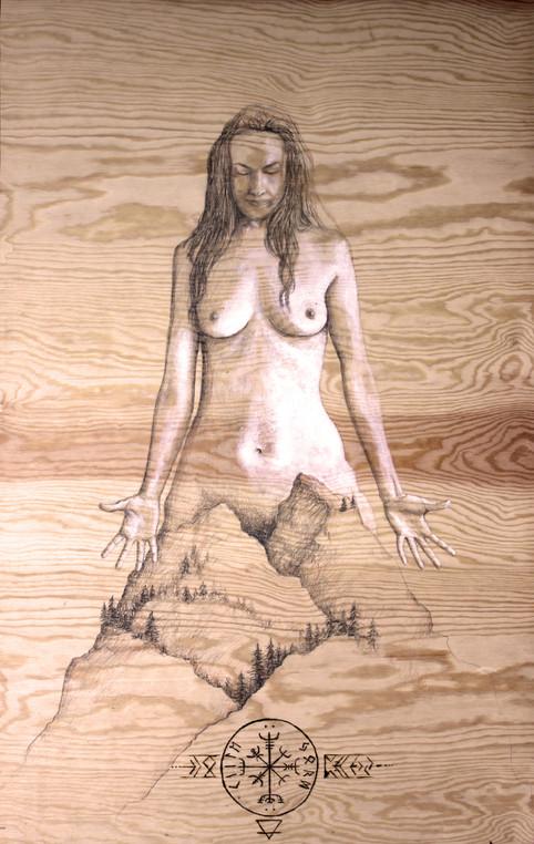 Kraftkvinna Jord (Female force Earth)