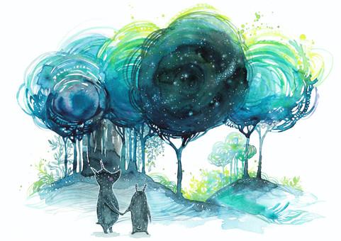 Stjärnskåda tillsammans