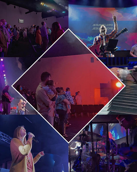Worship and music at Connections