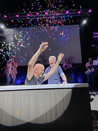 Baptism Celebration at Connections