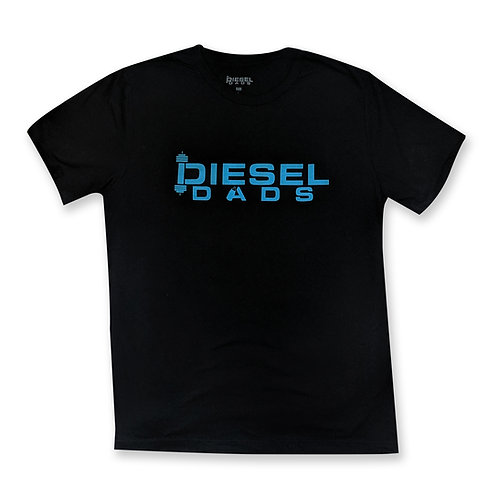 Logo Tee - Black/Teal