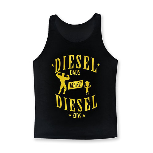 Dads & Kids Tank - Black