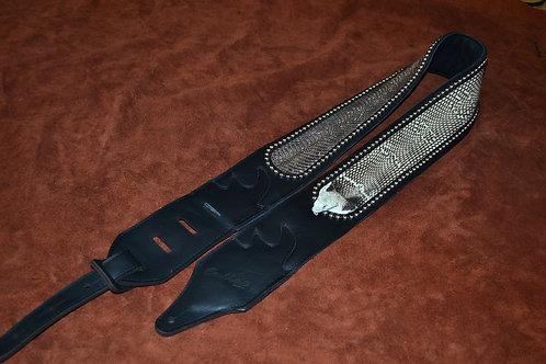 Carlino Custom Real Cobra Snake Strap