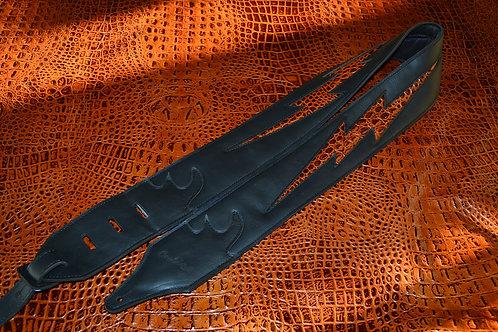 Carlino Custom Croc Bolt Leather Strap