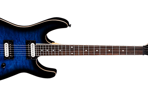 Md24 / MDX Quilt Maple Trans Blue Burst