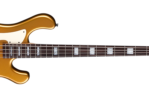 Dean Eric Series Bass Metallic Gold