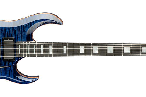 Dean USA Michael Angelo Batio Trans Blue Flame