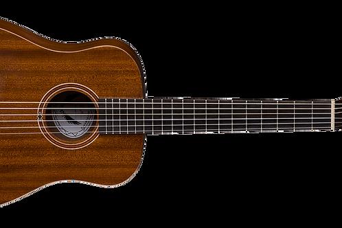 Dean 2017 Flight Nylon Classical Travel Guitar w/b