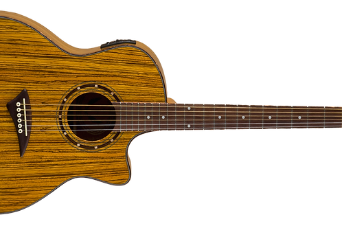 Dean Exotica Series Exotic Zebrawood