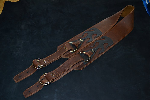 Carlino Gladiator Kodiak Oiled Strap Brown