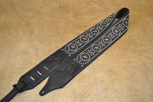 Carlino Classic Style strap with Star Conchos