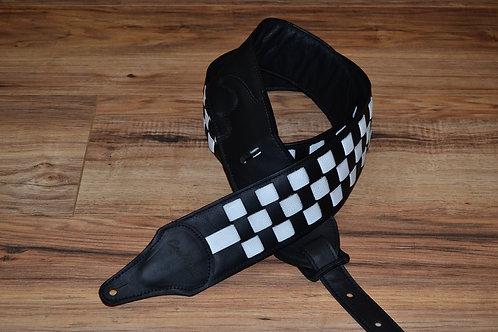 Carlino Checkerboard Rick Nielsen Styled Strap